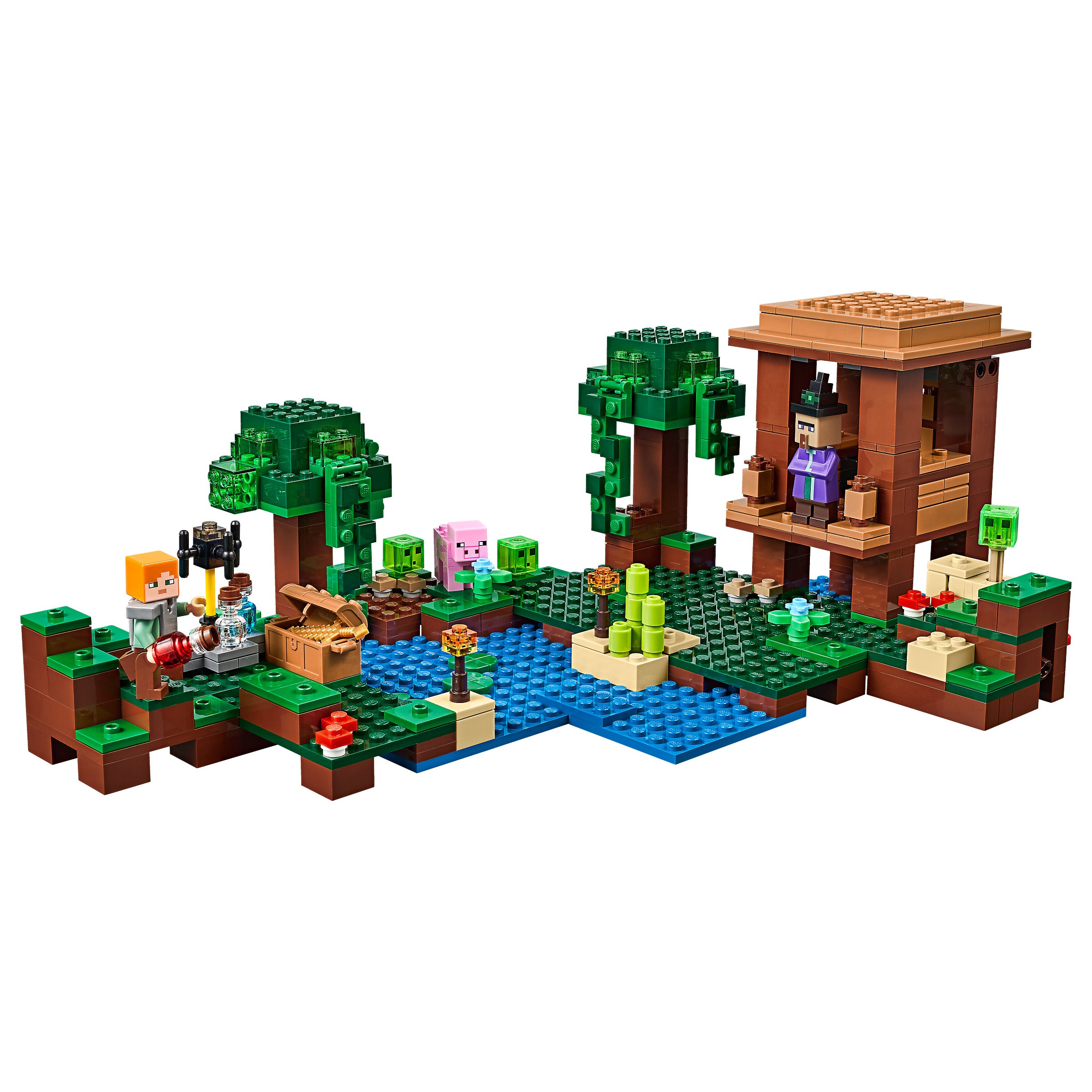 Lego 21133 Minecraft The Witch Hut At Hobby Warehouse