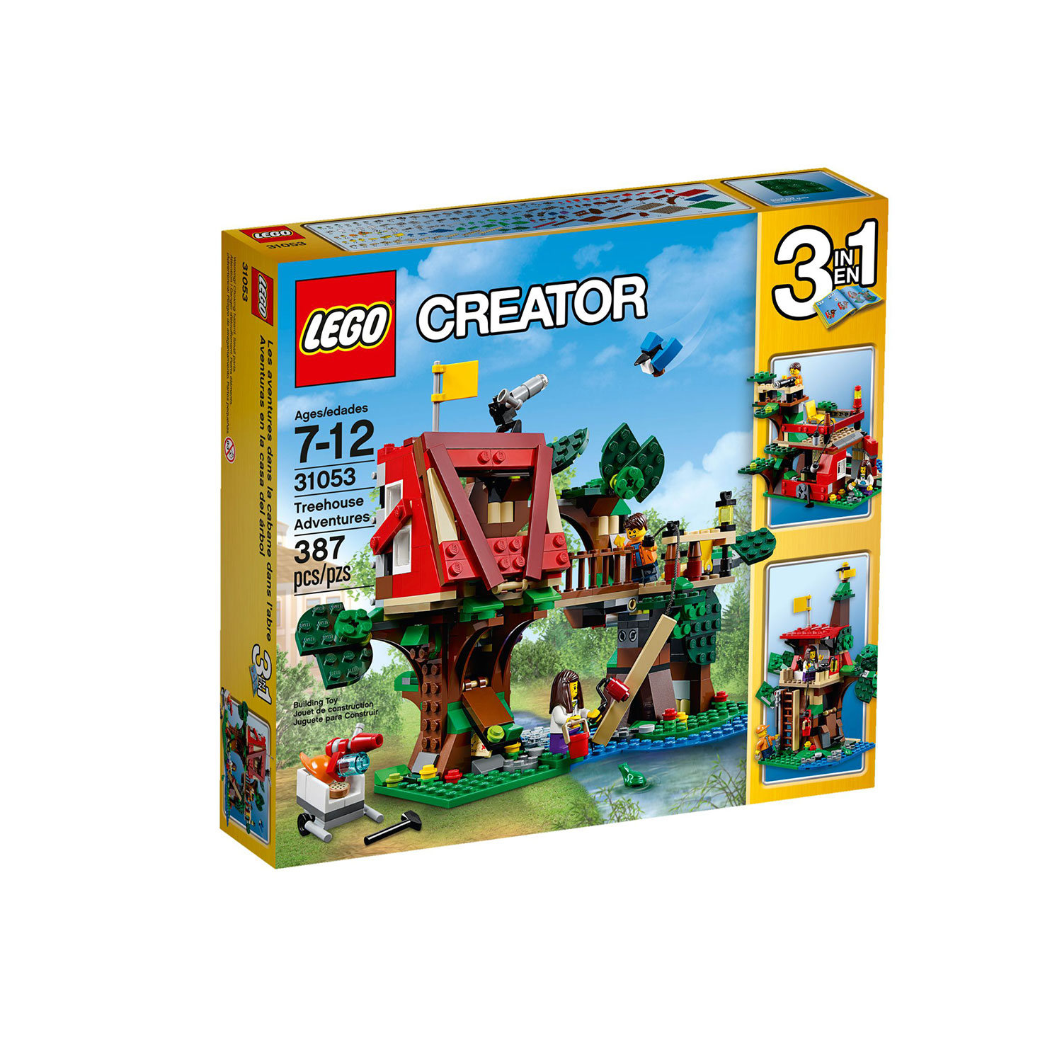 lego 31053 creator treehouse adventures at hobby warehouse. Black Bedroom Furniture Sets. Home Design Ideas