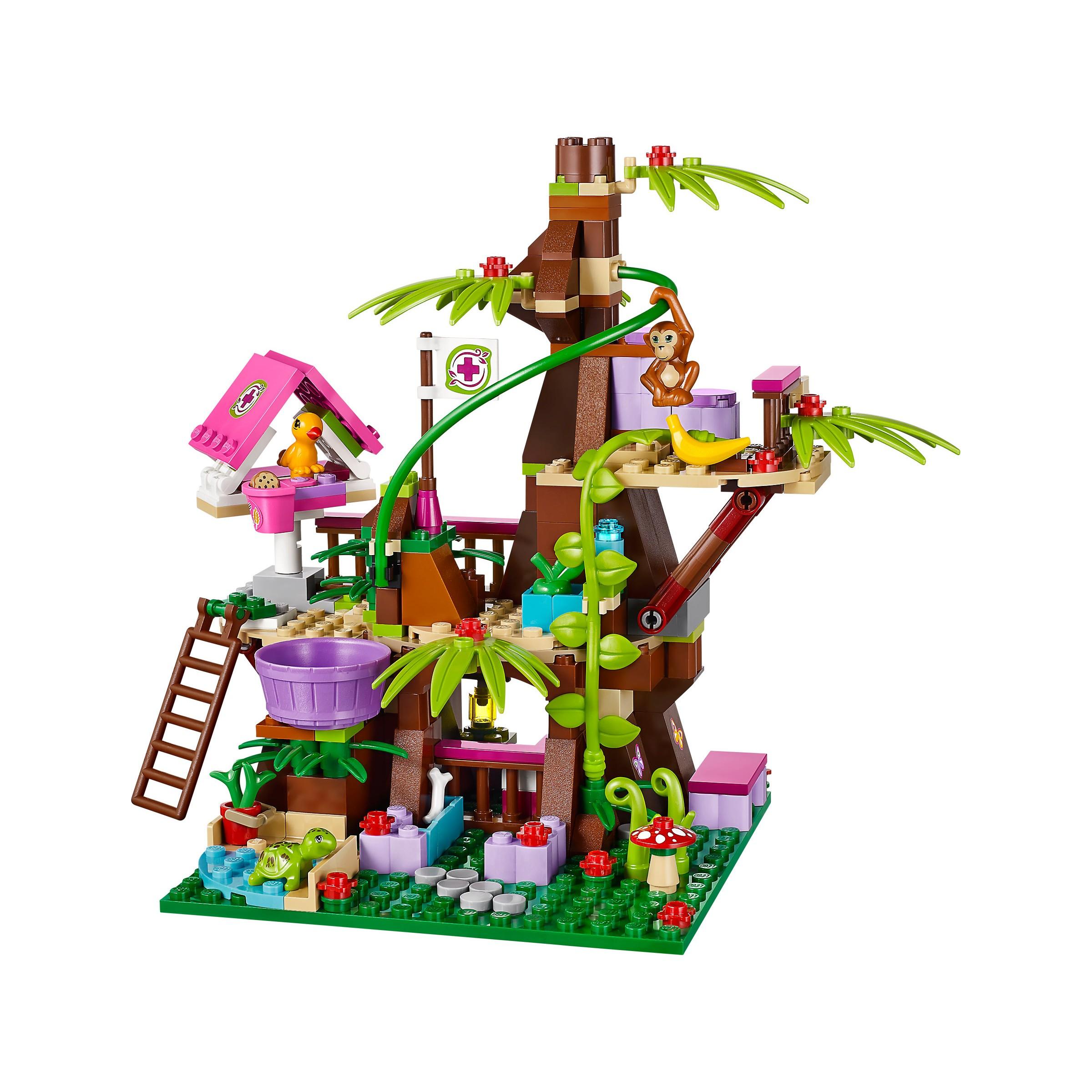 Lego 41059 Friends Jungle Tree Sanctuary At Hobby Warehouse