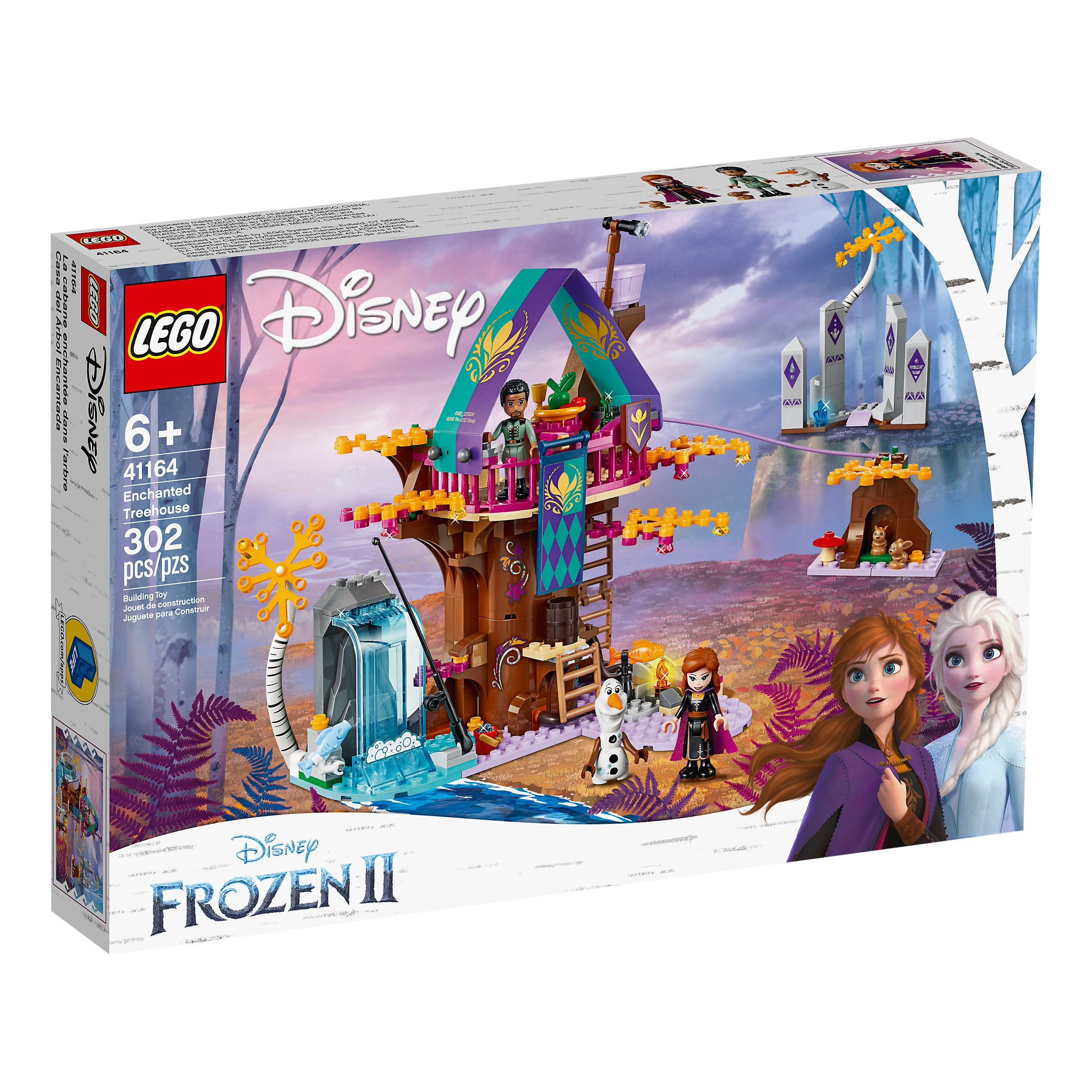 Lego 41164 Disney Frozen Ii Enchanted Treehouse At Hobby