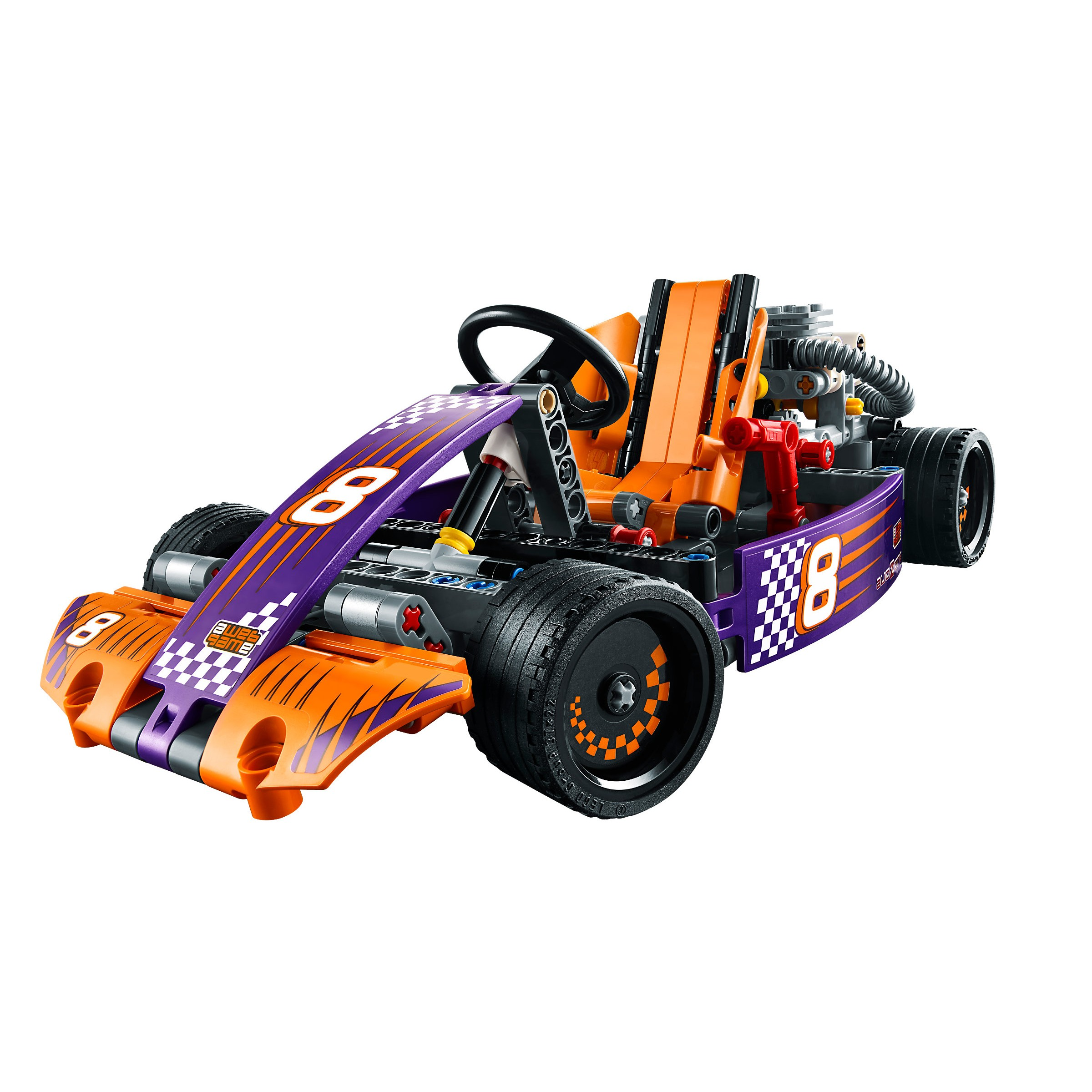 lego 42048 technic race kart at hobby warehouse. Black Bedroom Furniture Sets. Home Design Ideas