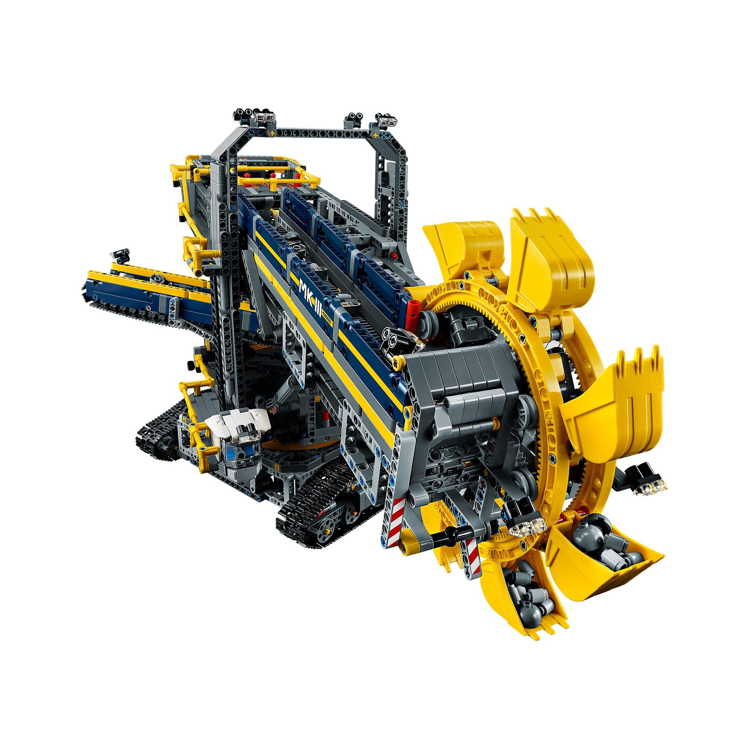 lego 42055 technic bucket wheel excavator at hobby warehouse. Black Bedroom Furniture Sets. Home Design Ideas