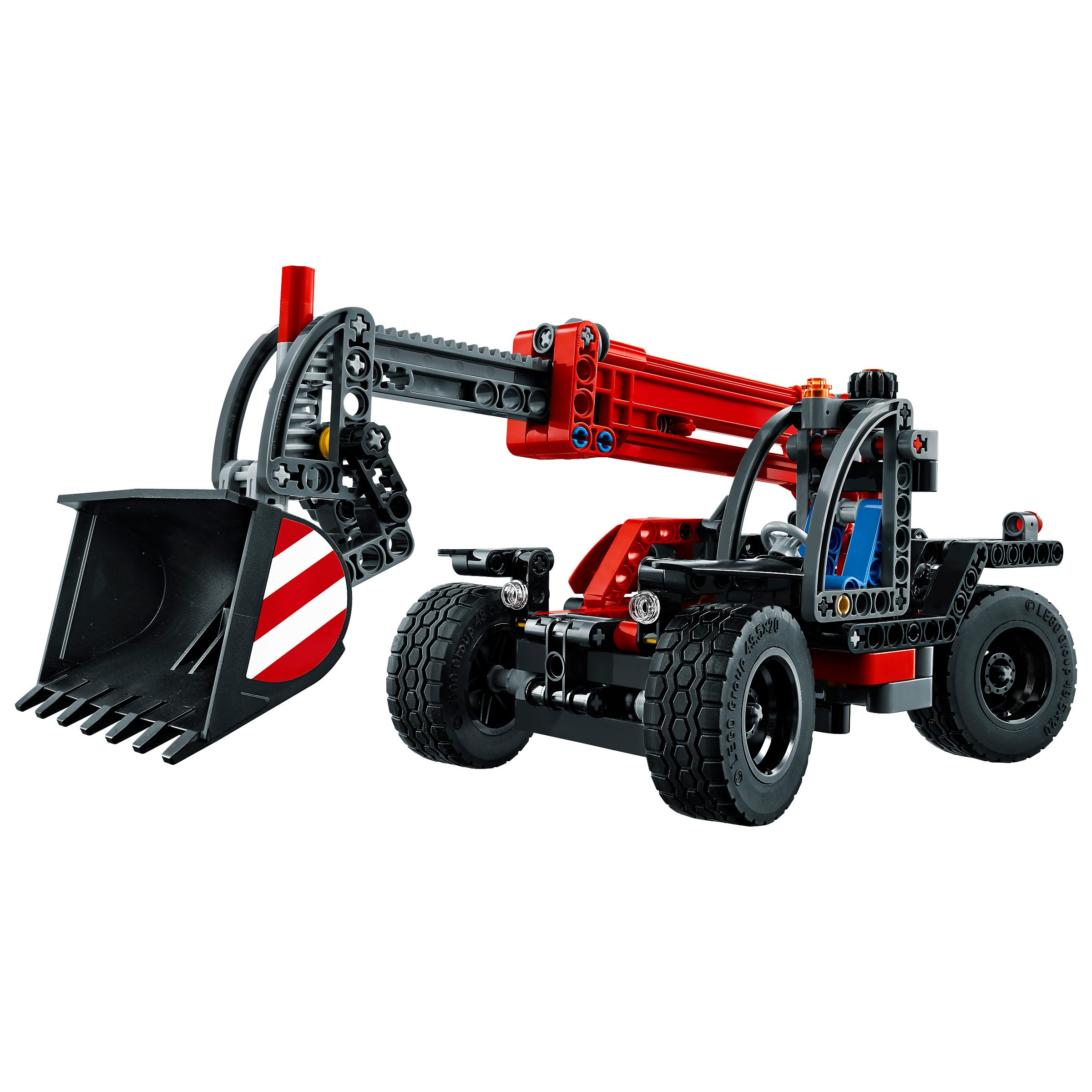 lego 42061 technic telehandler at hobby warehouse. Black Bedroom Furniture Sets. Home Design Ideas