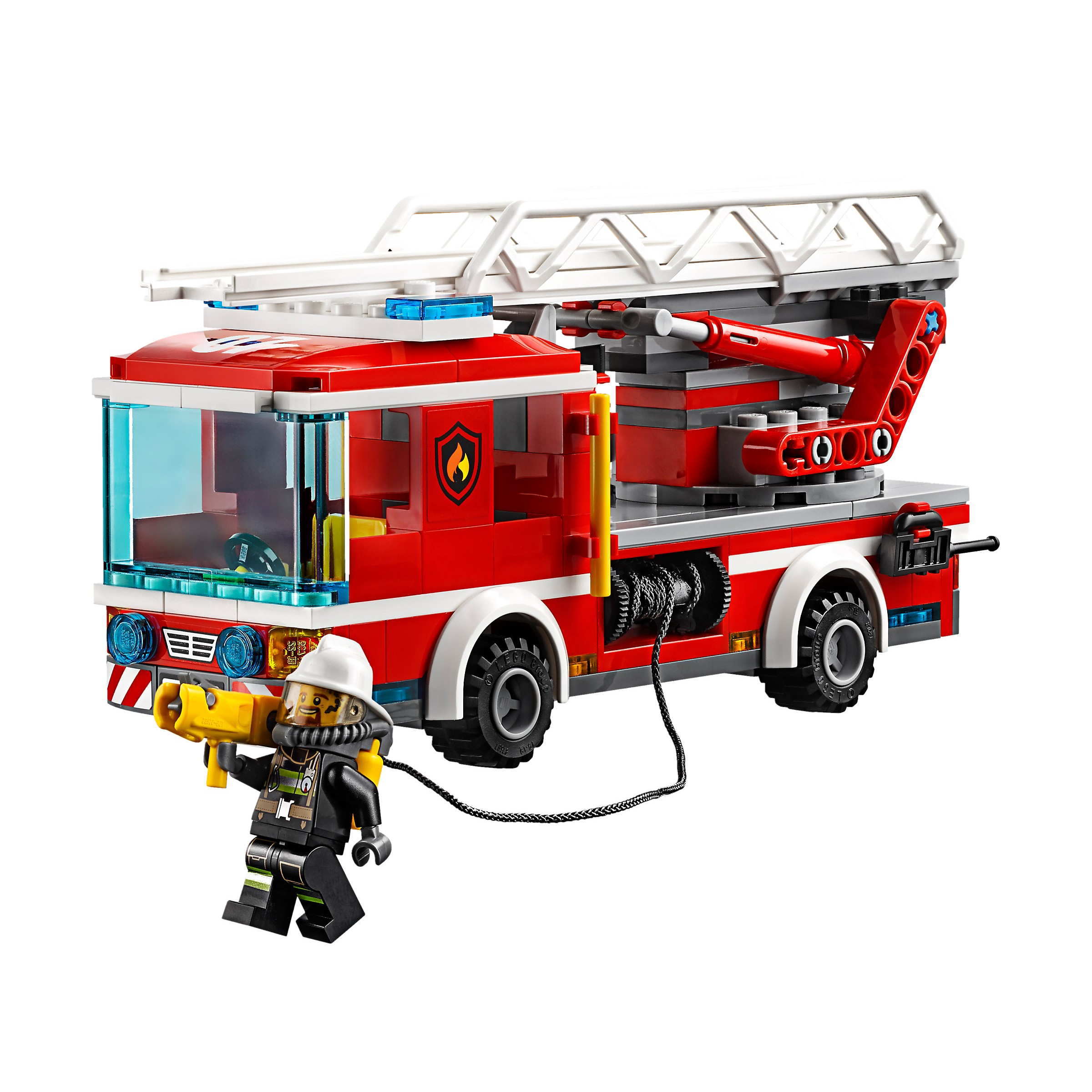 Lego 60107 City Fire Ladder Truck At Hobby Warehouse
