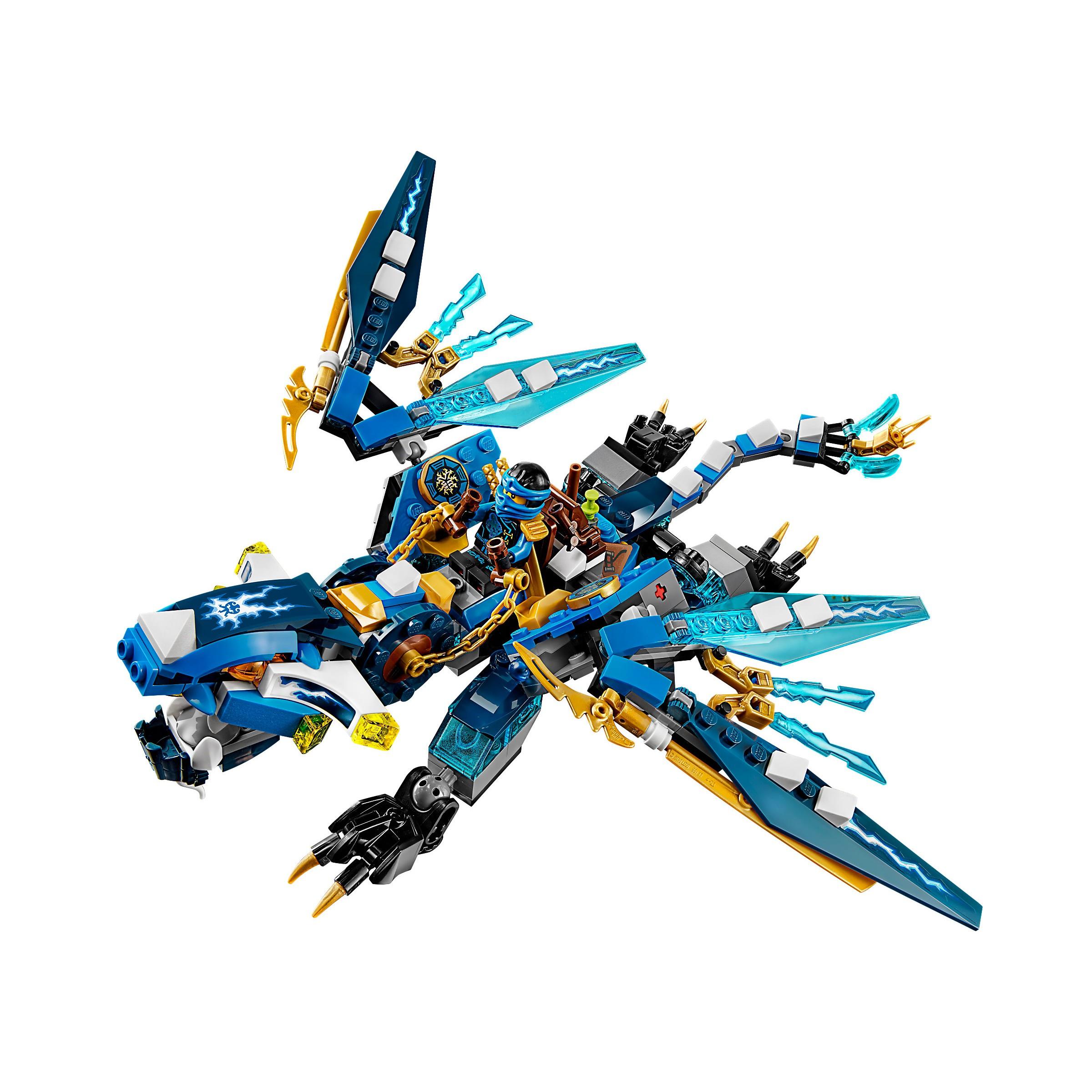 Lego 70602 Ninjago Jay S Elemental Dragon At Hobby Warehouse