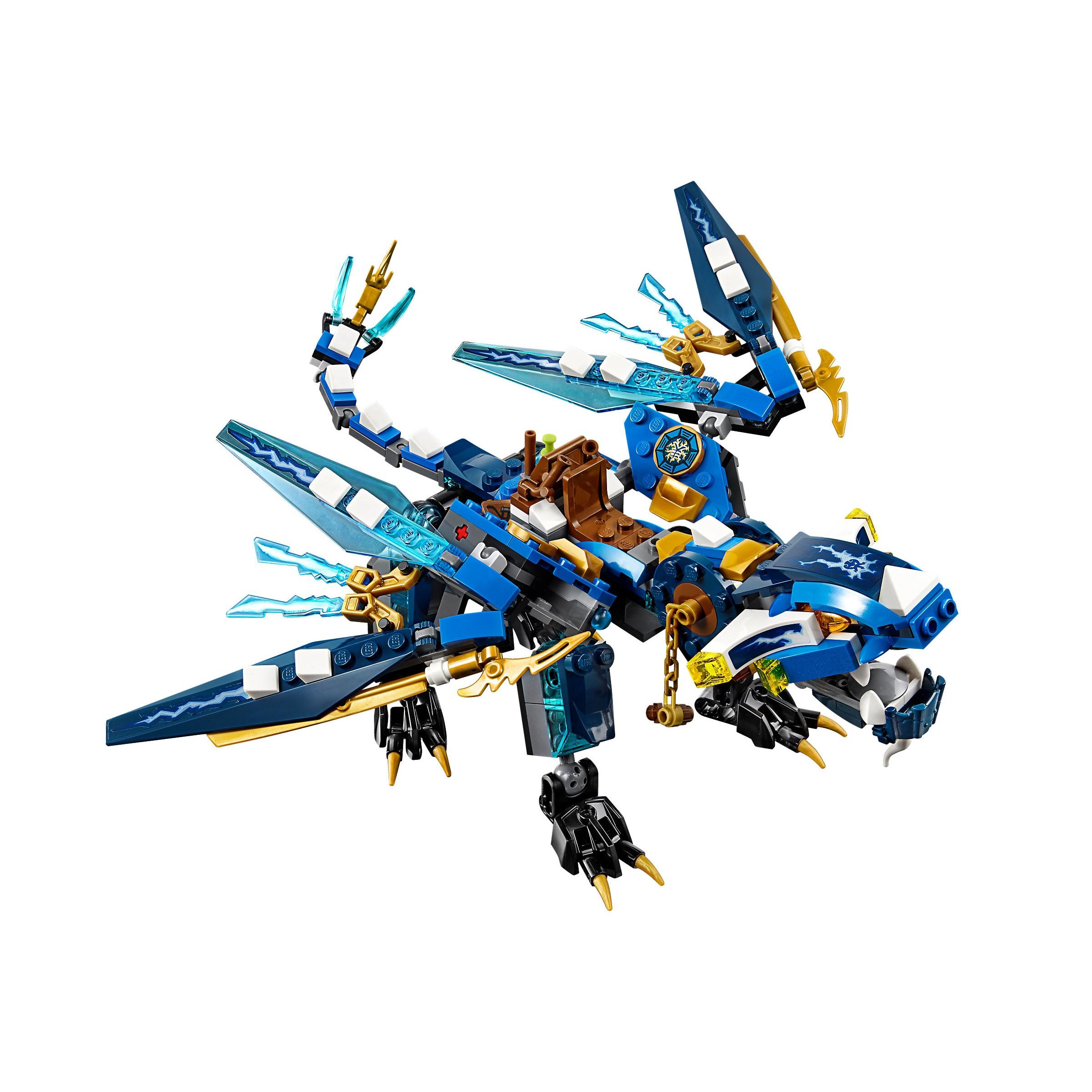 Lego 70602 ninjago jay 39 s elemental dragon at hobby warehouse - Dragon ninjago lego ...