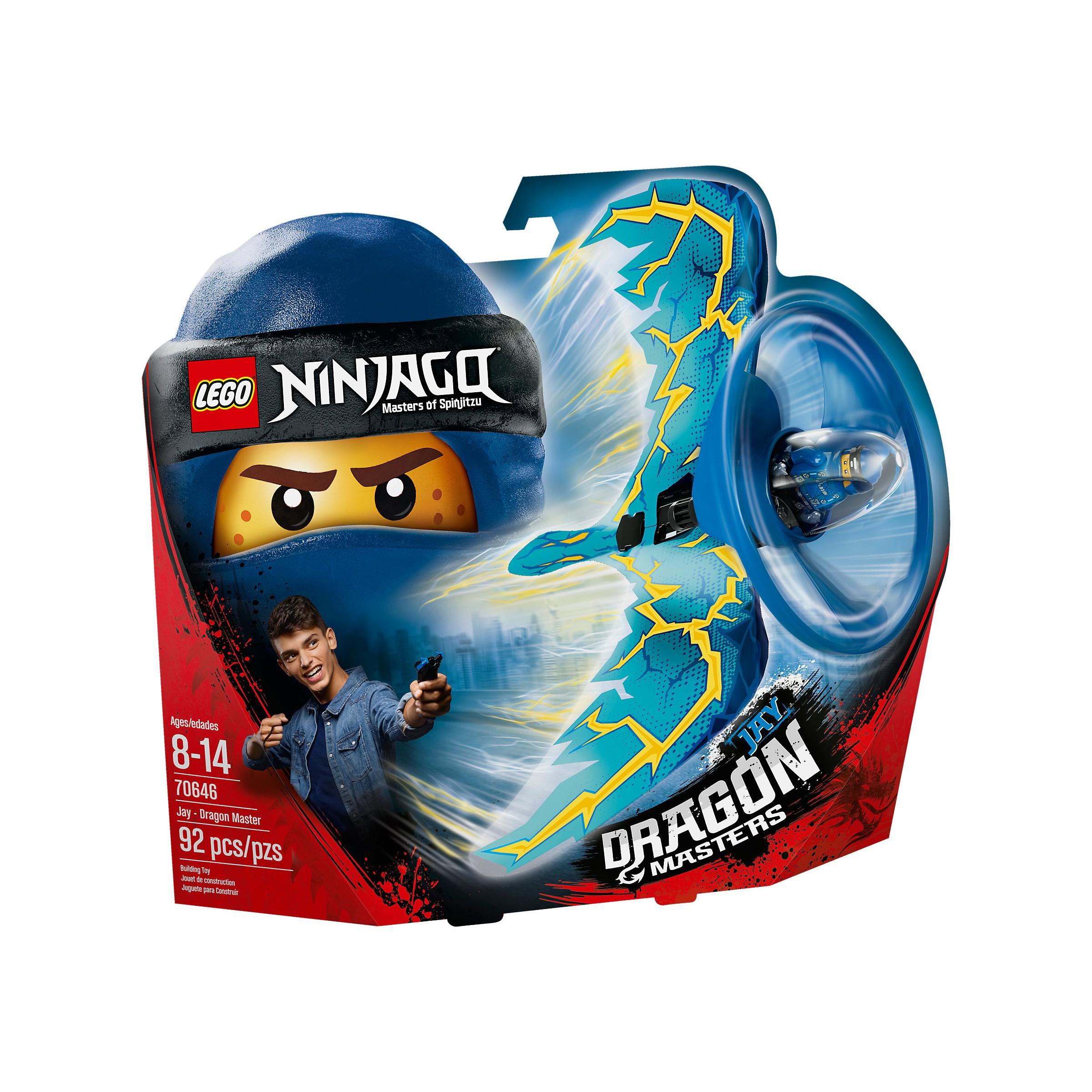 lego 70646 ninjago jay  dragon master at hobby warehouse