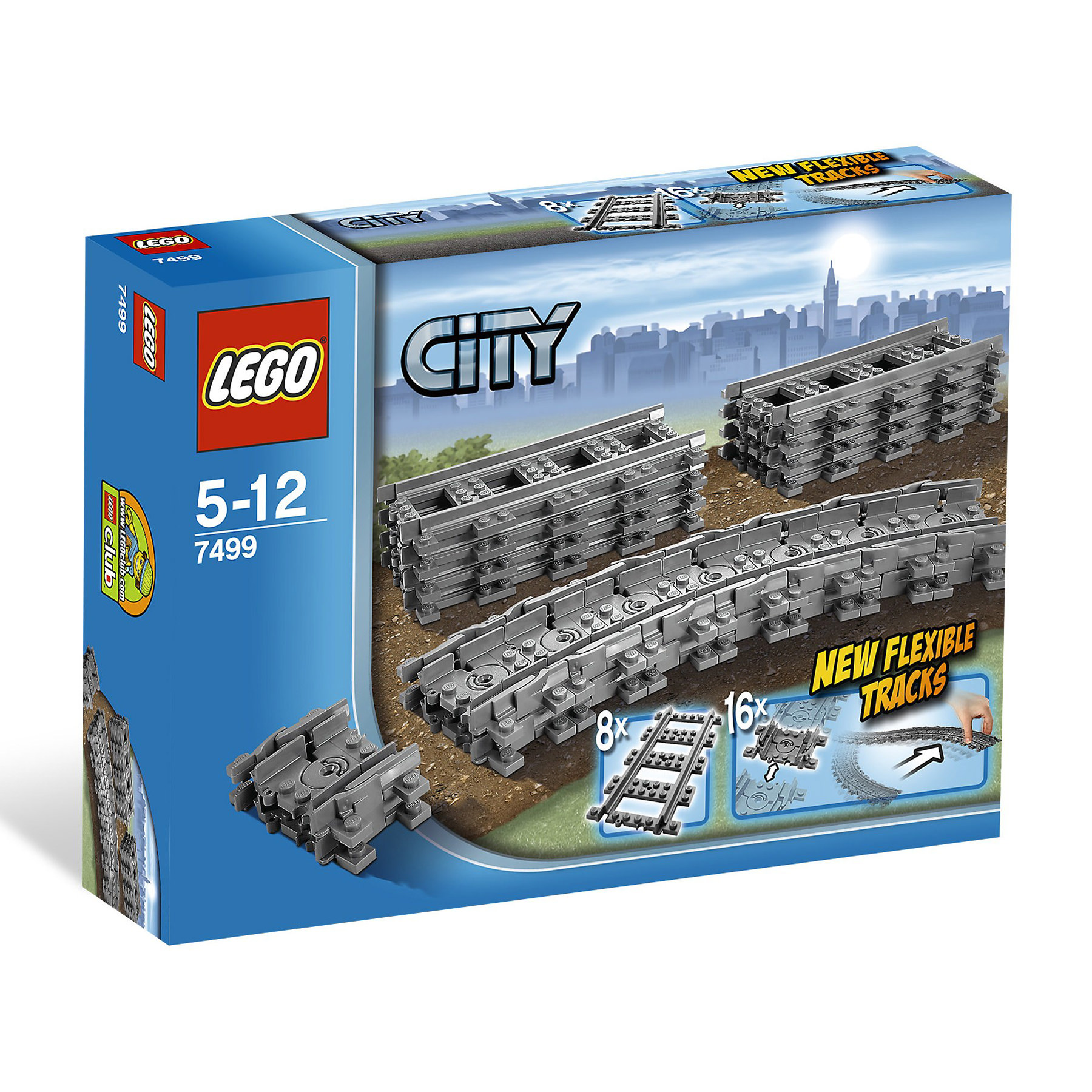 Lego 7499 City Flexible And Straight Train Tracks At Hobby
