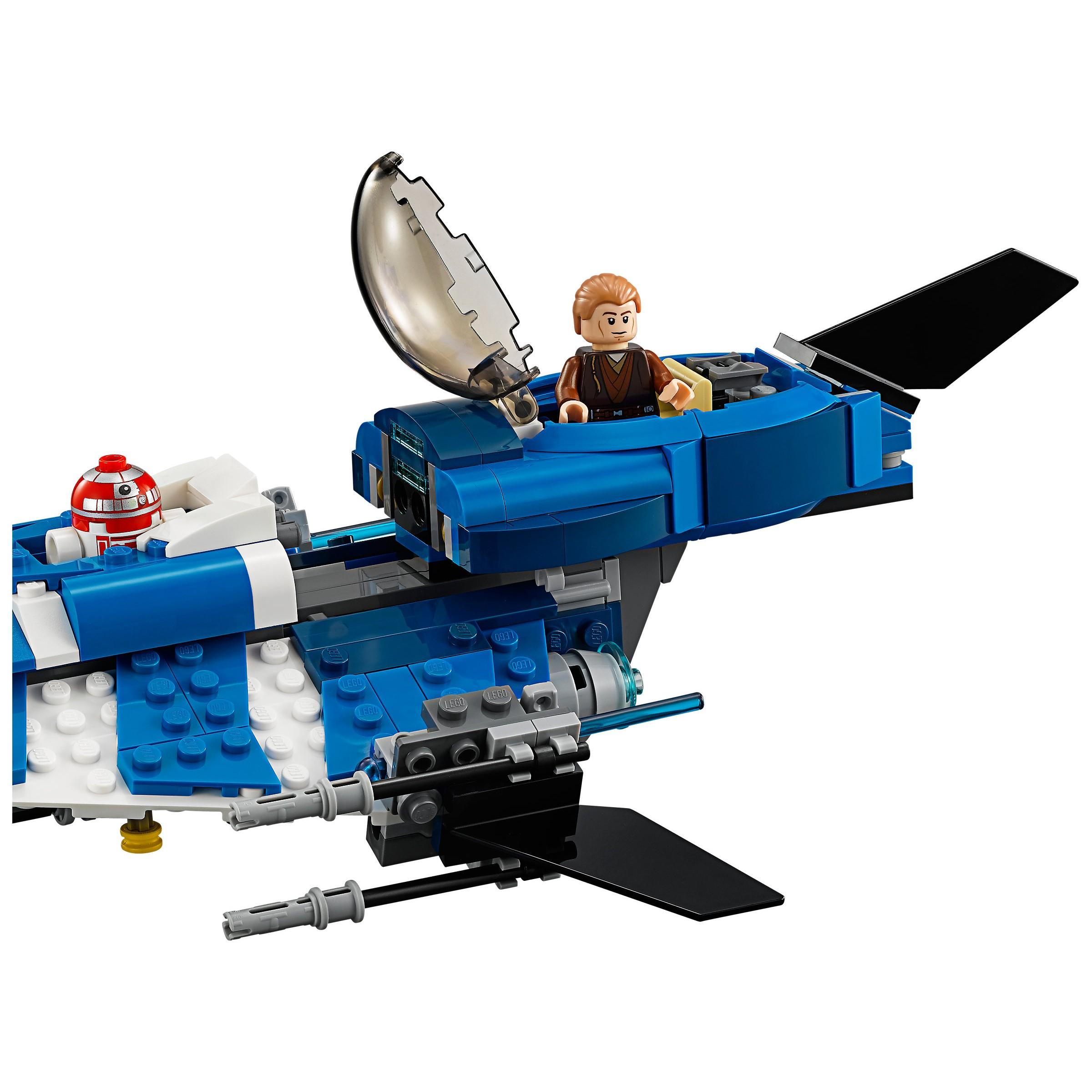 Lego 75087 star wars anakin 39 s custom jedi starfighter at - Lego star wars vaisseau anakin ...