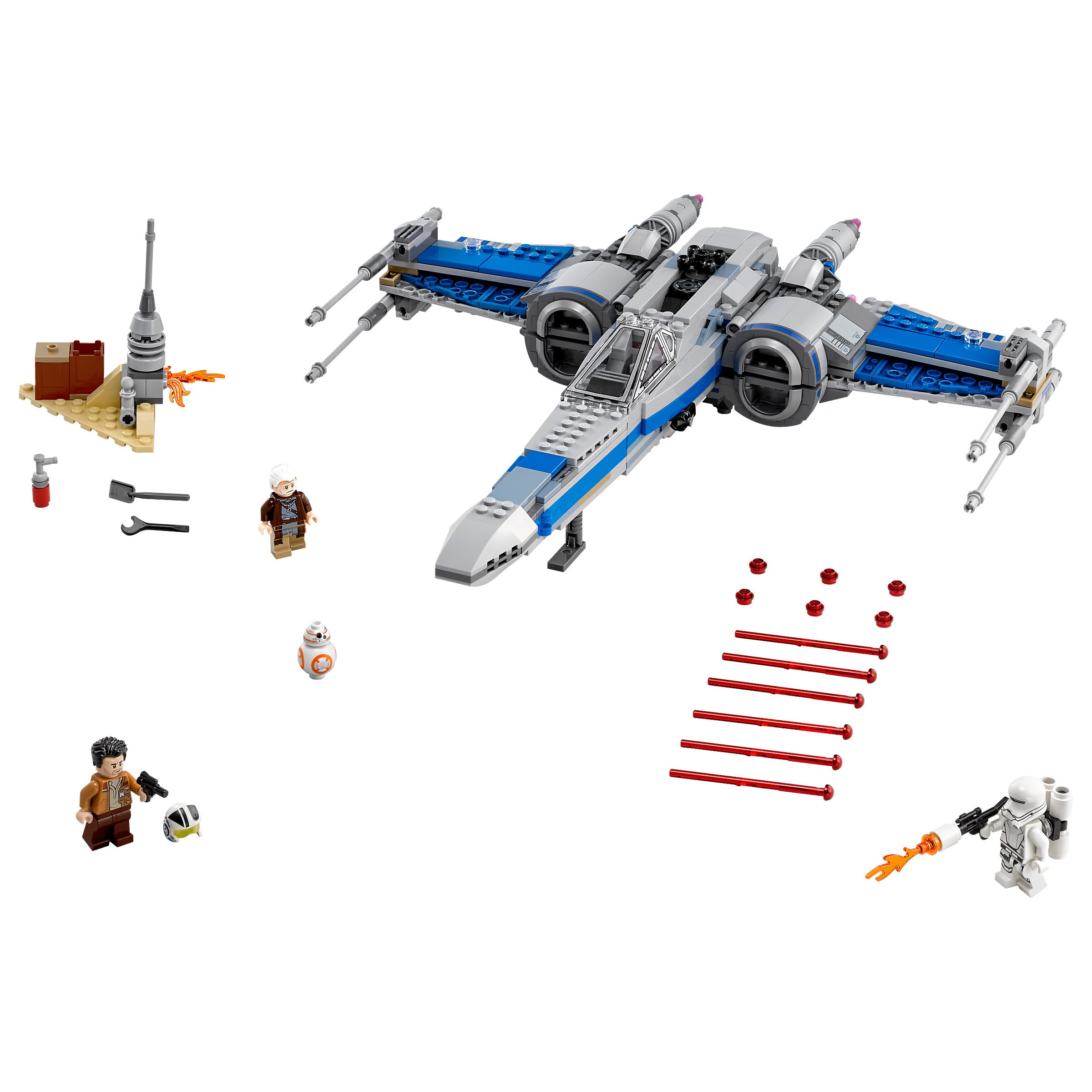Lego 75149 Star Wars Resistance X Wing Fighter At Hobby