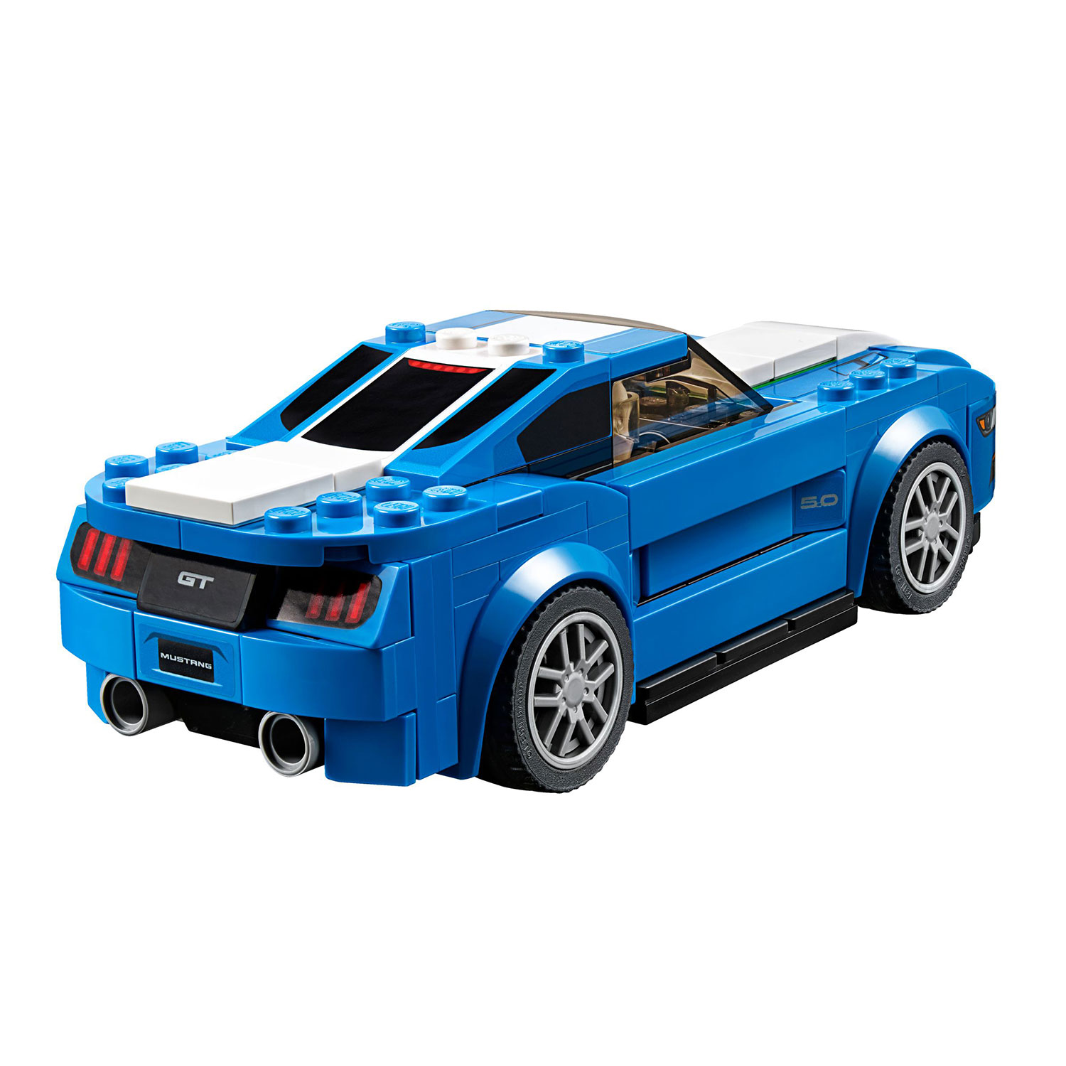 lego 75871 speed champions ford mustang gt at hobby warehouse. Black Bedroom Furniture Sets. Home Design Ideas