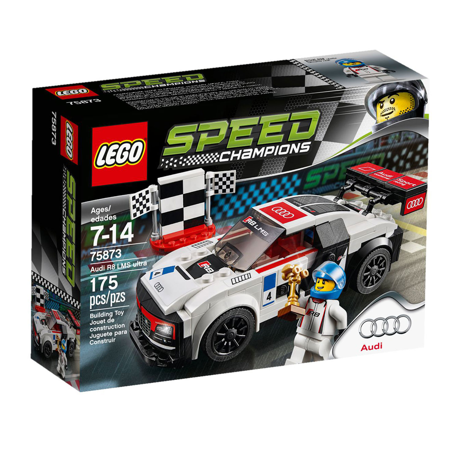 lego 75873 speed champions audi r8 lms ultra at hobby. Black Bedroom Furniture Sets. Home Design Ideas