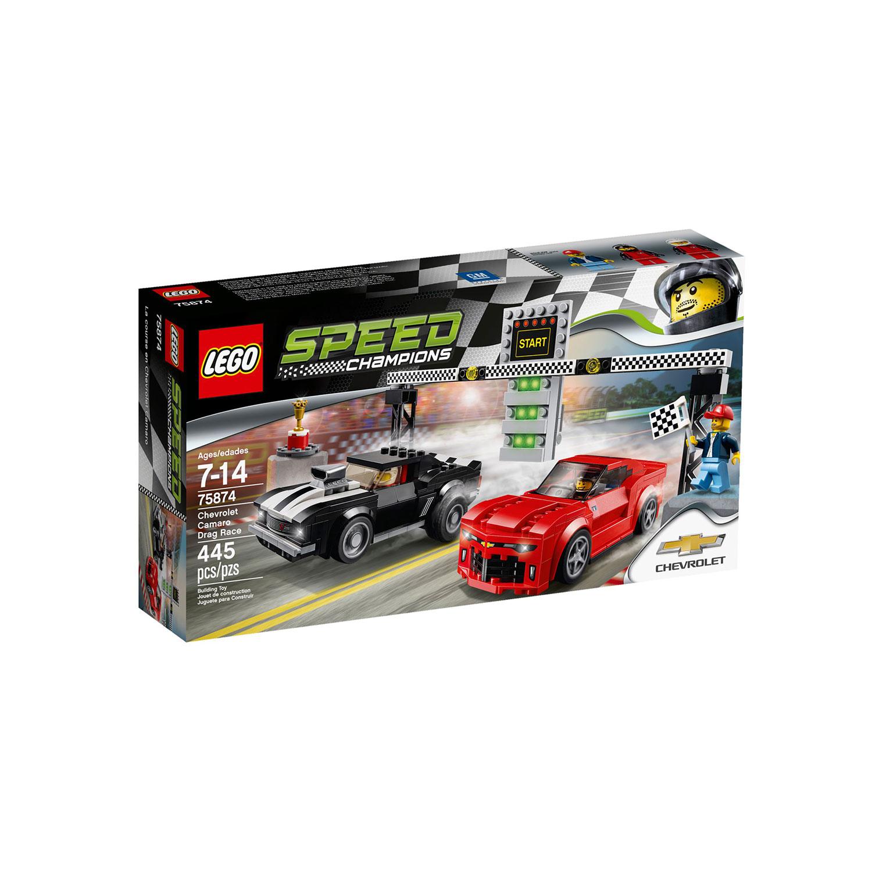 Lego 75874 Speed Champions Chevrolet Camaro Drag Race At