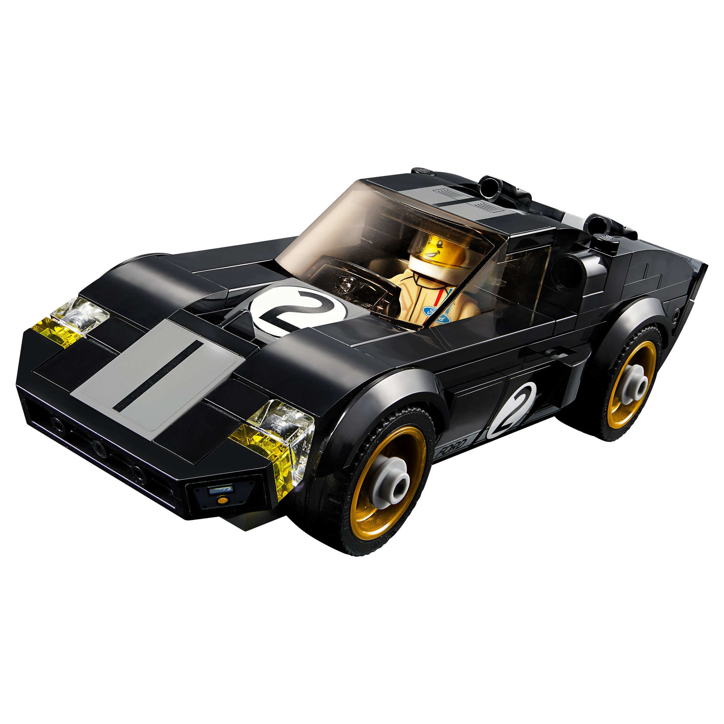 lego 75881 speed champions 2016 ford gt 1966 ford gt40 at hobby warehouse. Black Bedroom Furniture Sets. Home Design Ideas
