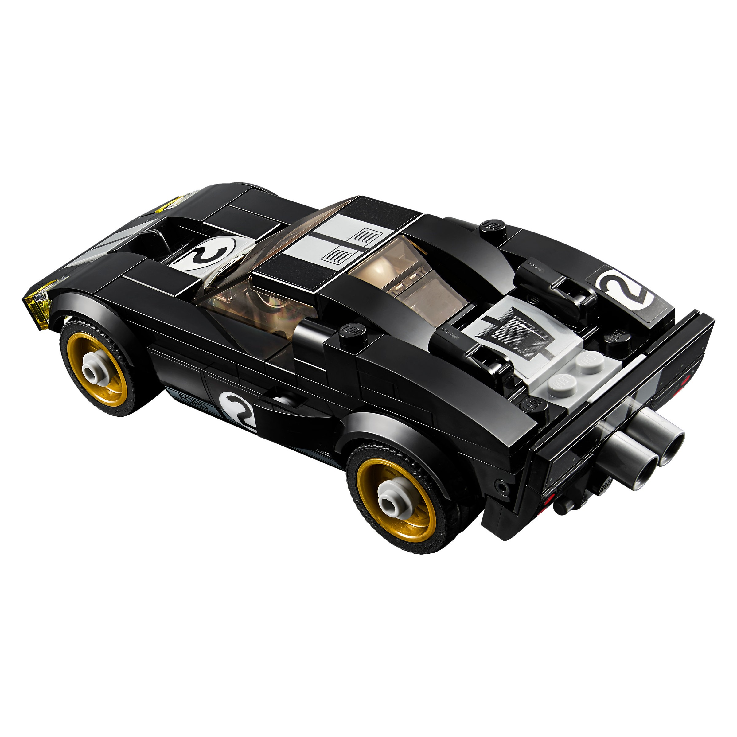 Lego  Speed Champions  Ford Gt  Ford Gt