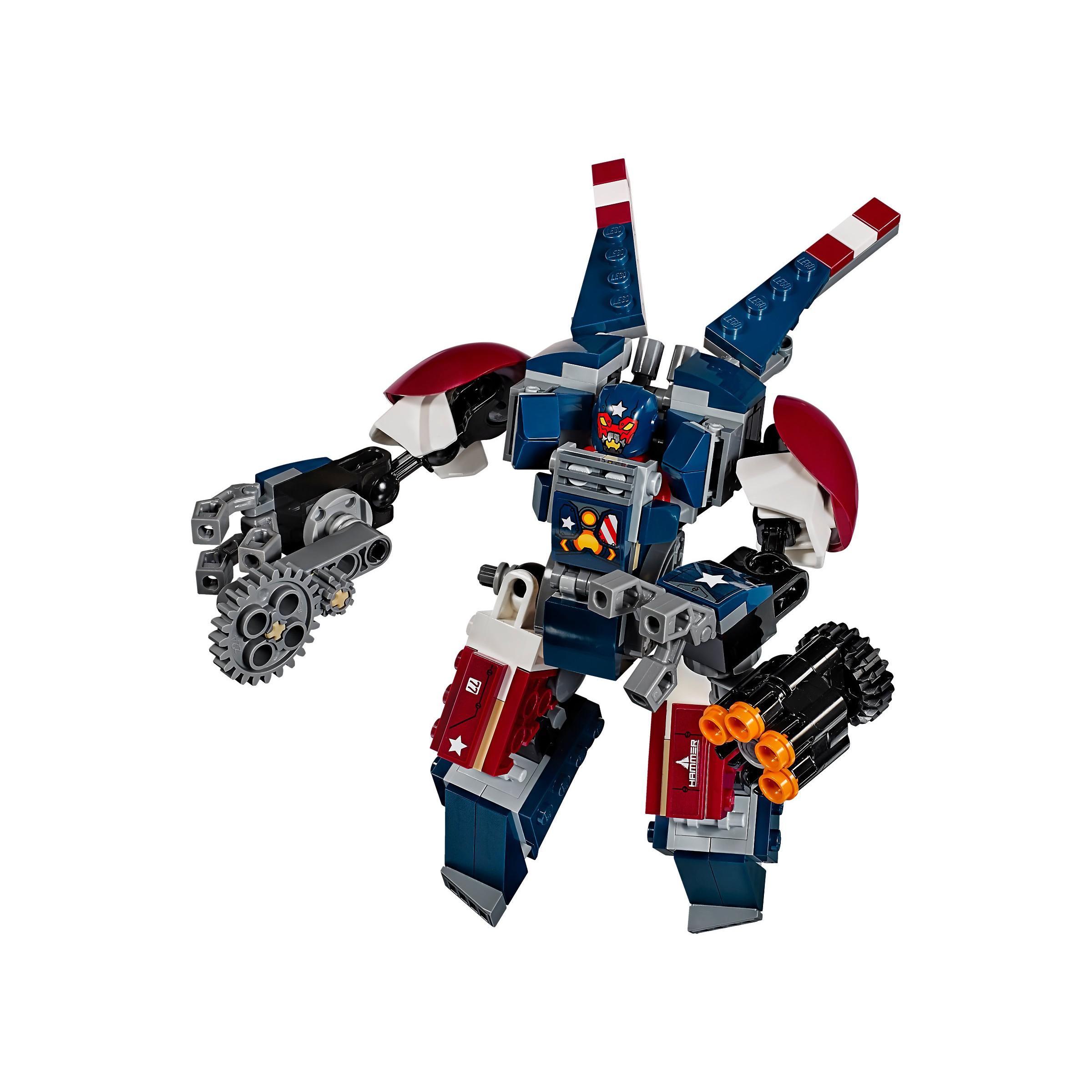 LEGO 76077 Marvel Super Heroes Iron Man: Detroit Steel ...