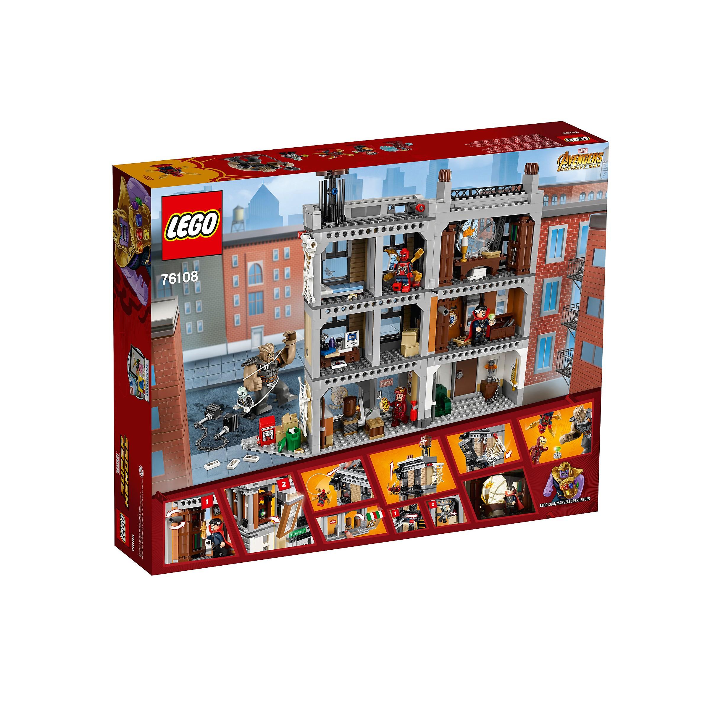 LEGO 76108 Marvel Super Heroes Sanctum Sanctorum Showdown ...