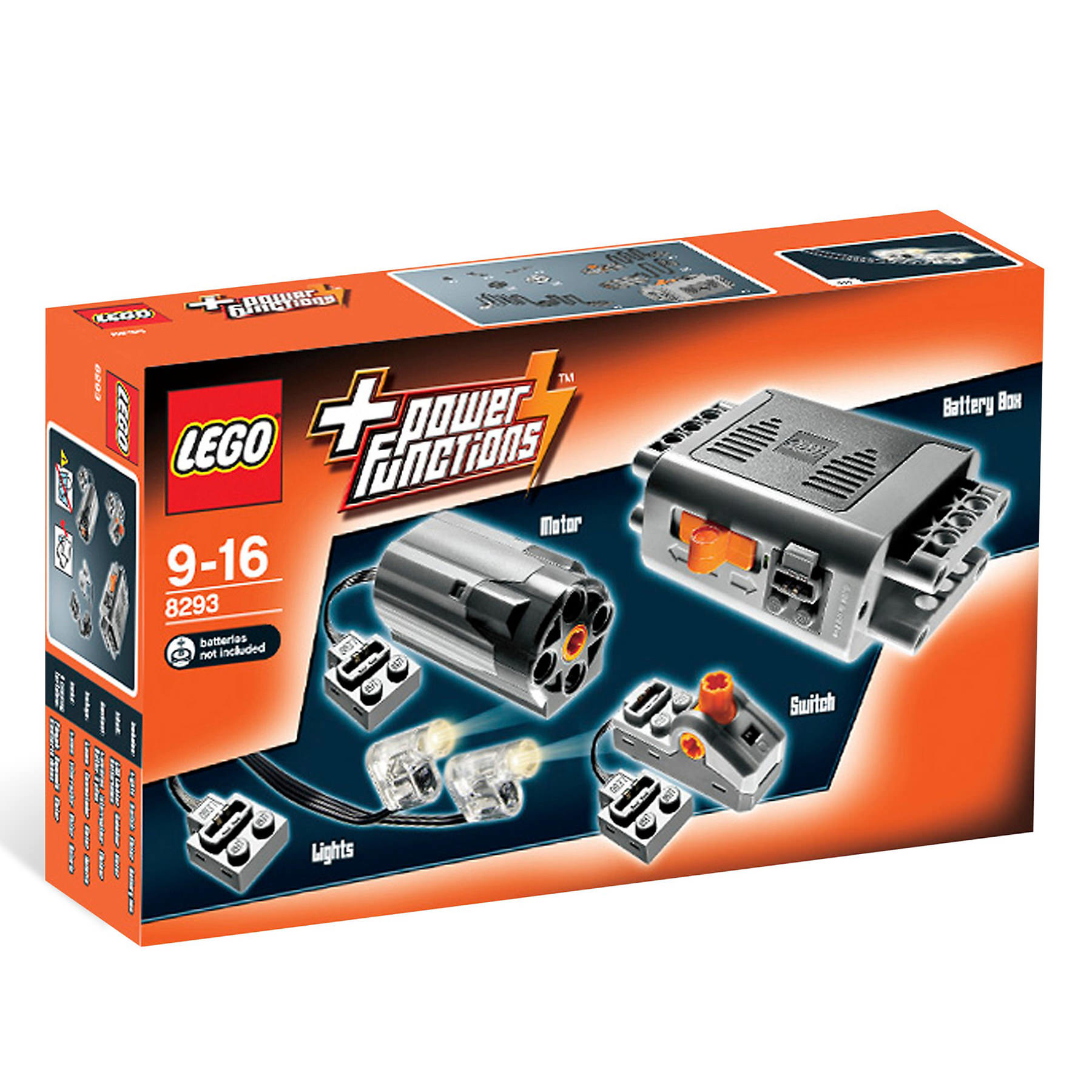 LEGO 8293 Power Functions Motor Set At Hobby Warehouse