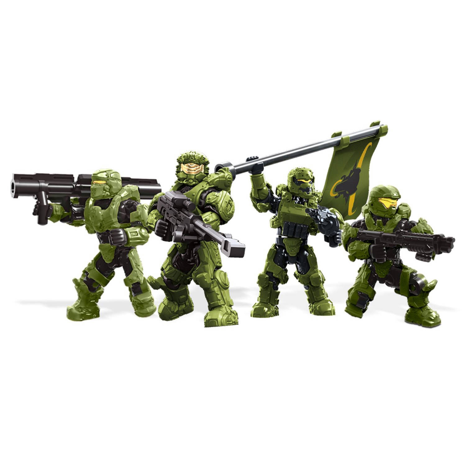 Mega Bloks Halo Unsc Fireteam Taurus At Hobby Warehouse