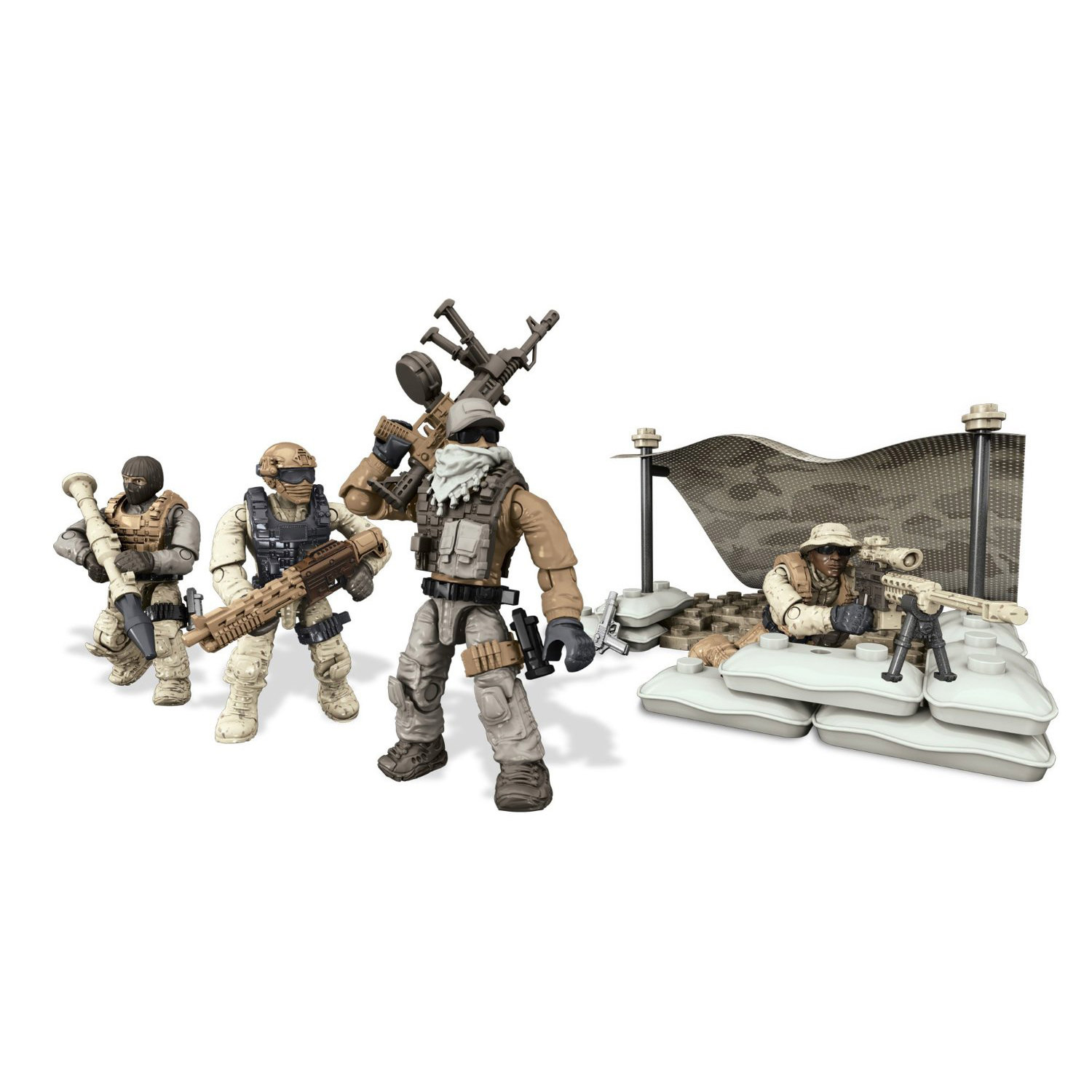 Mega Bloks Call Of Duty Desert Squad Playset At Hobby