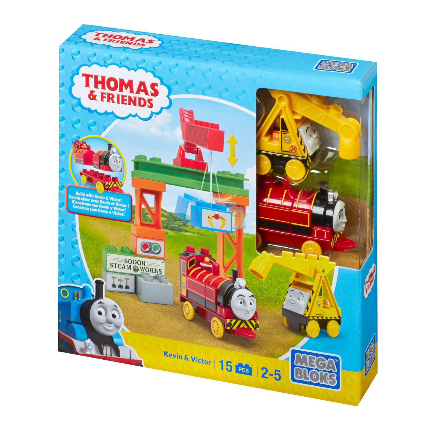 Mega Bloks Thomas Amp Friends Kevin Amp Victor Playset At