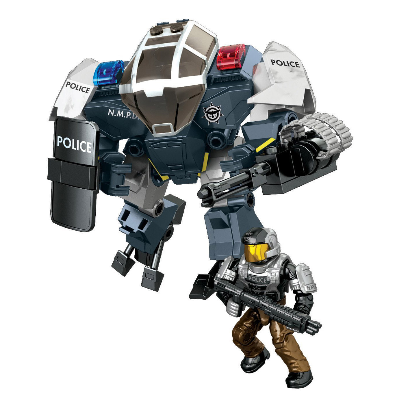 Mega Bloks Halo Sector 12 Police Cyclops Set At Hobby