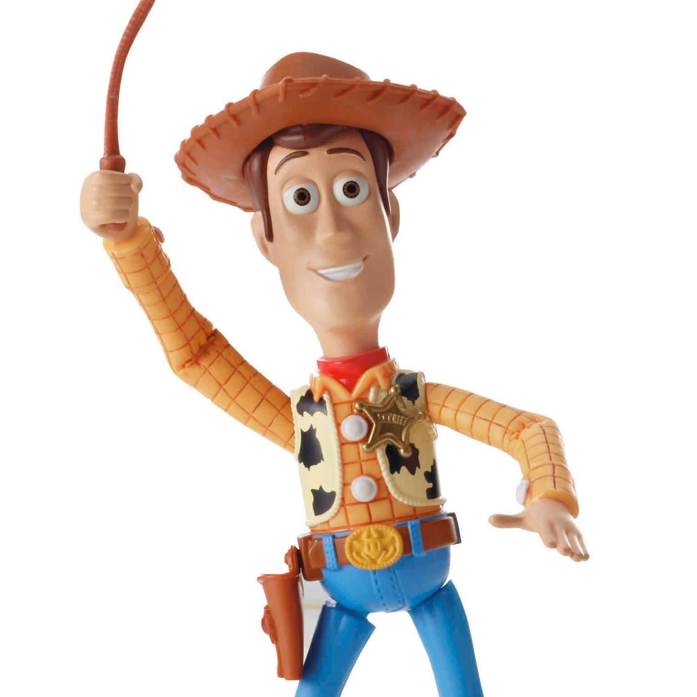 Disney Pixar Toy Story Deluxe Round Em Up Sheriff Woody ...