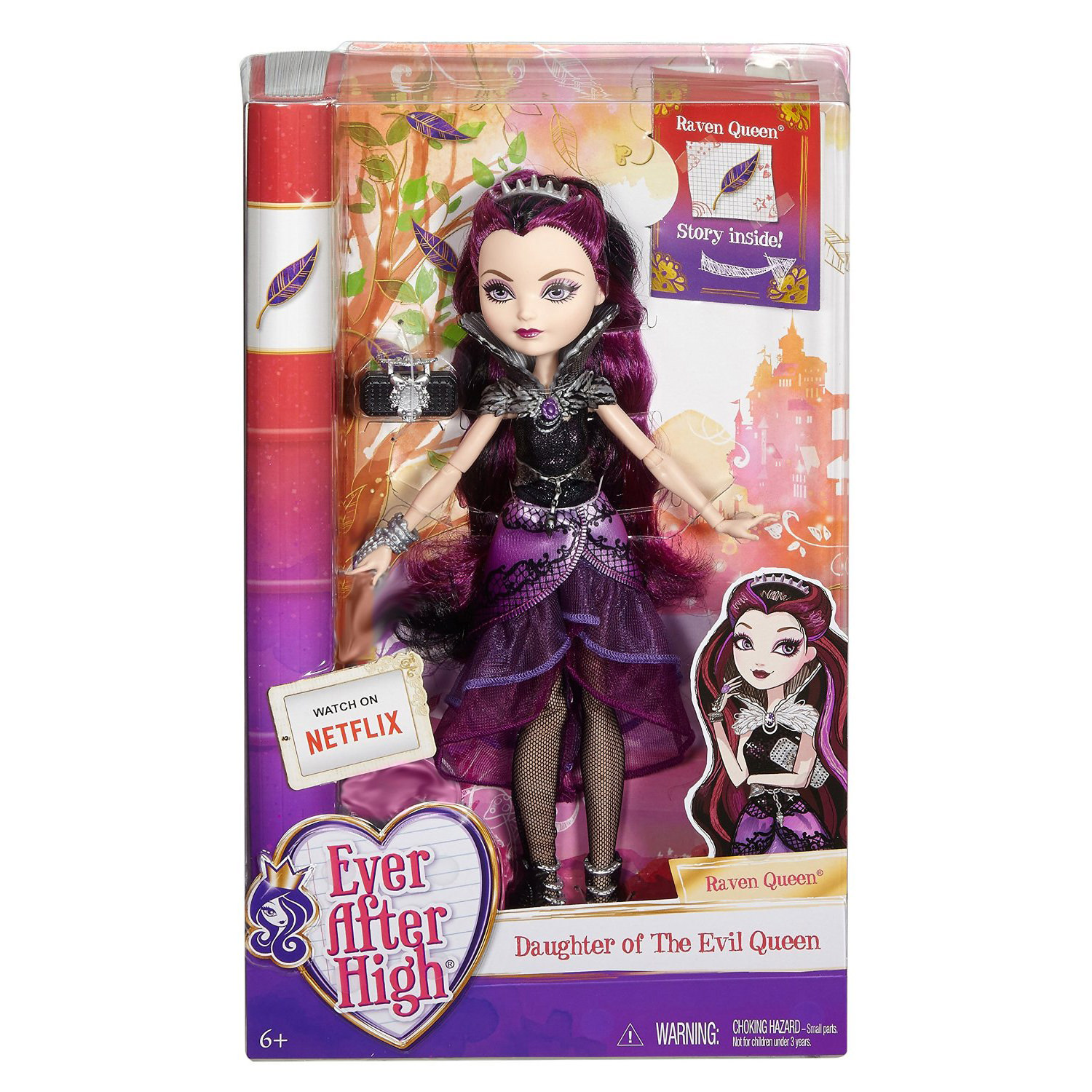 ever after high first chapter raven queen doll at hobby