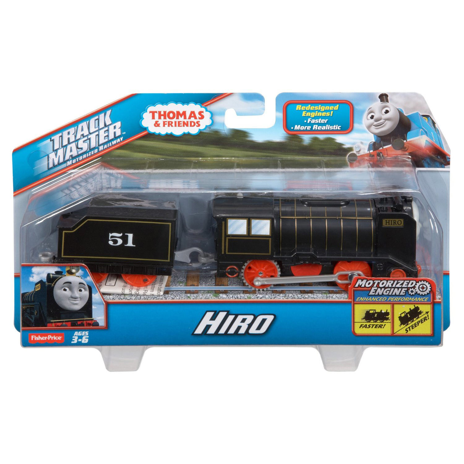 Fisher Price Thomas Amp Friends Trackmaster Motorized Hiro