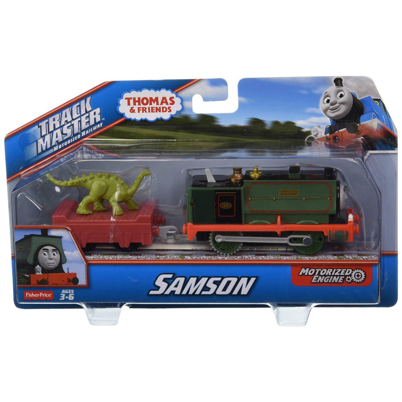 Fisher price thomas friends trackmaster samson motorized for Thomas friends trackmaster motorized railway