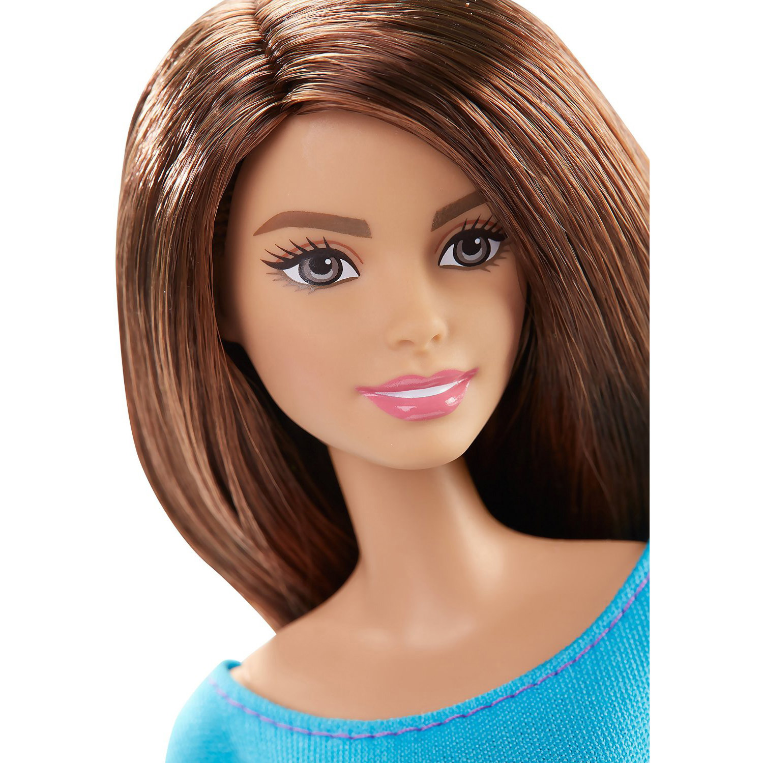 Barbie Made To Move Barbie Doll Blue Top At Hobby Warehouse