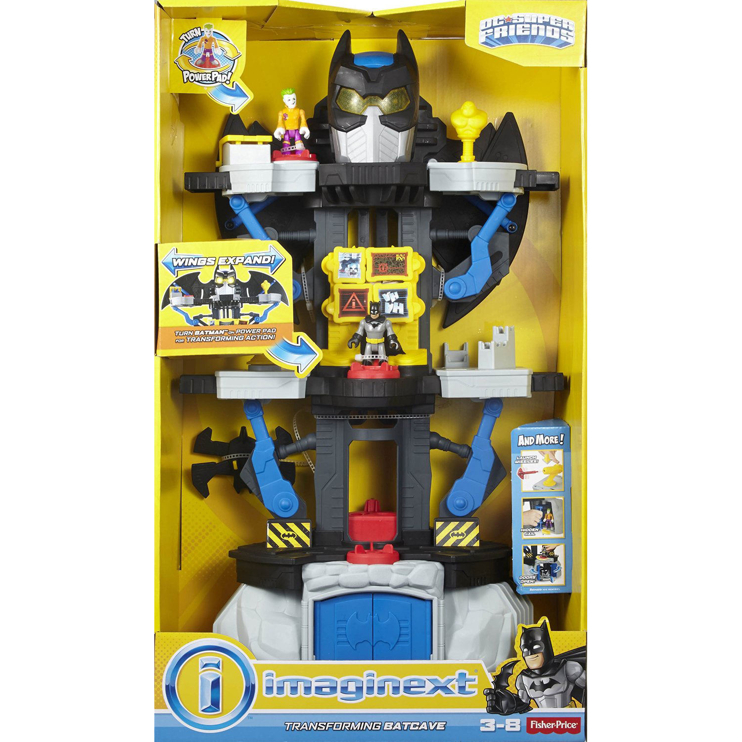 Fisher Price Imaginext DC Super Friends Transforming Batcave at Hobby Warehouse