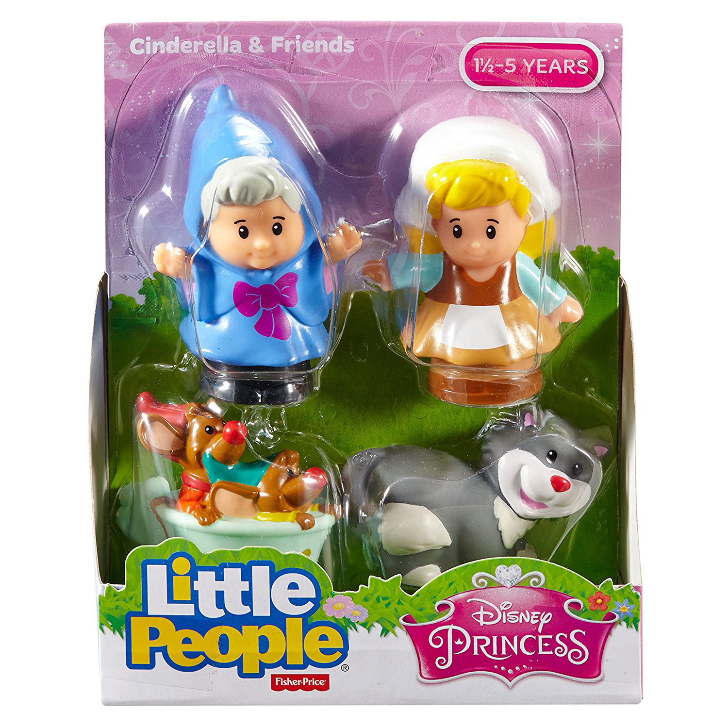 Fisher Price Little People Disney Cinderella And Friends