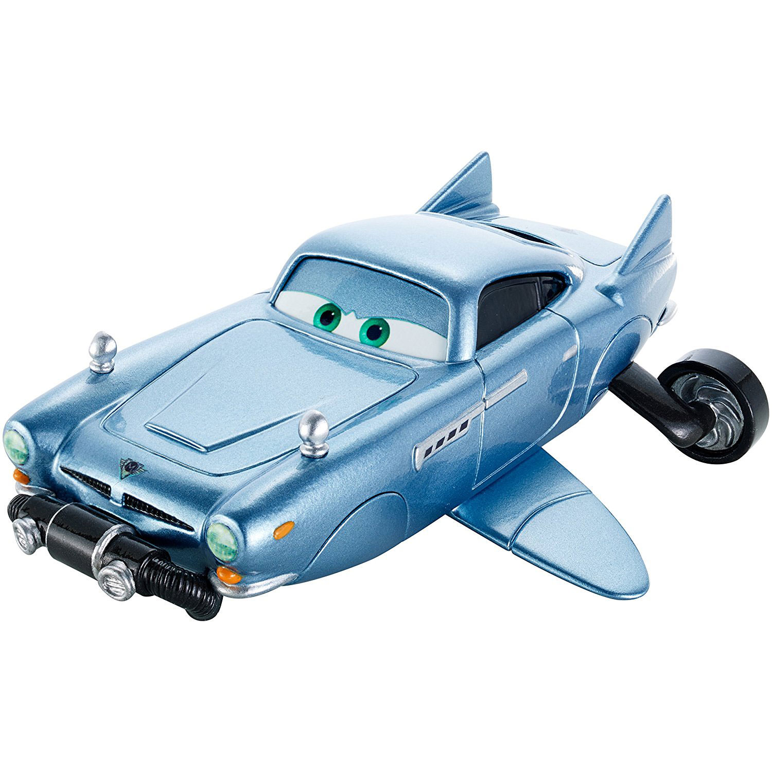 Finn Mcmissile Giocattolo Mattel Disney 1 55 Cars Auto: Pixar Cars 1:55 Scale Deluxe Diecast Character