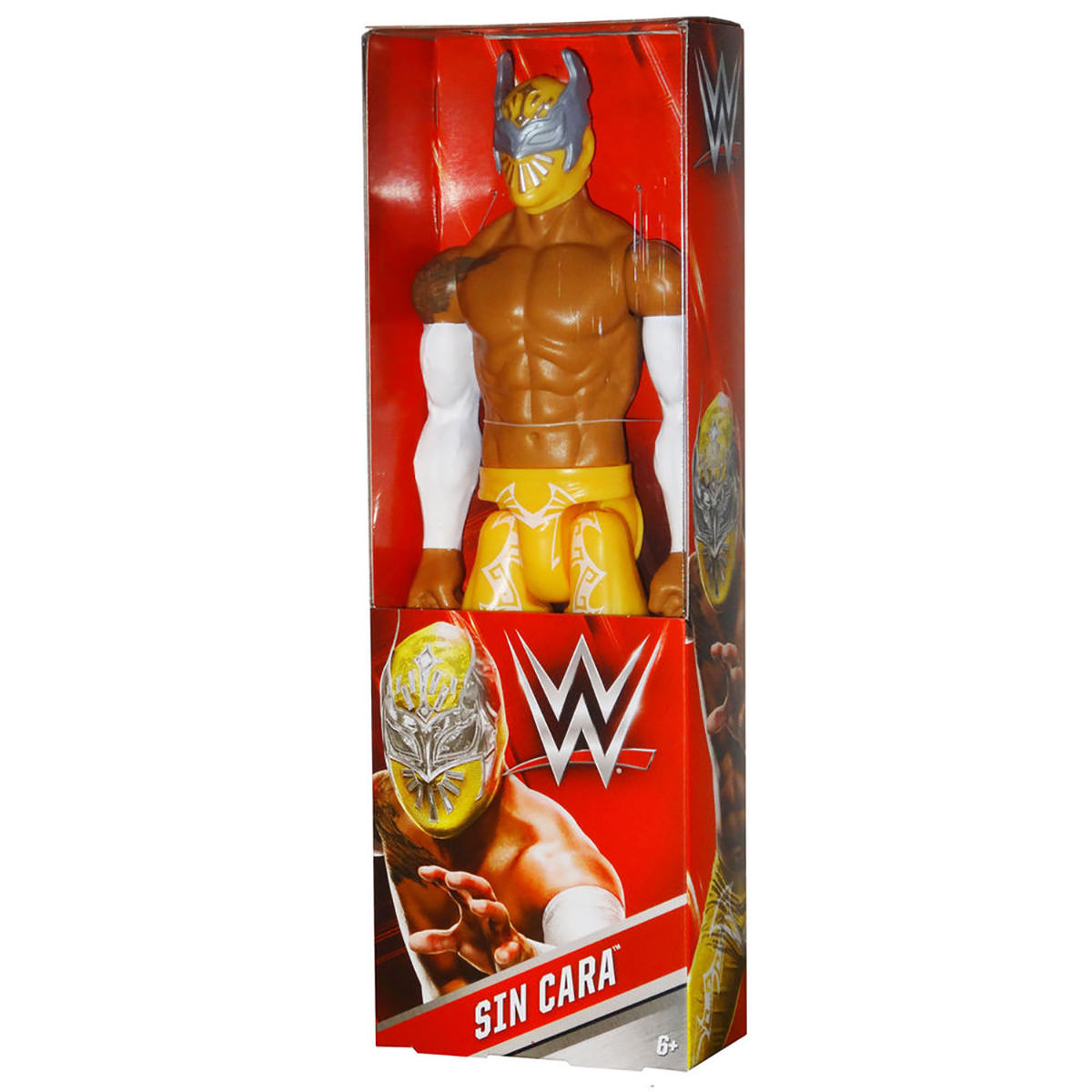 Wwe 12 Quot Figure Sin Cara With Yellow Outfit At Hobby