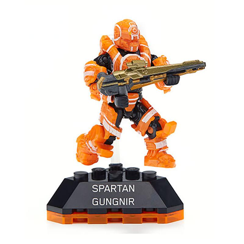 Mega Bloks Halo Heroes Spartan Gungnir At Hobby Warehouse