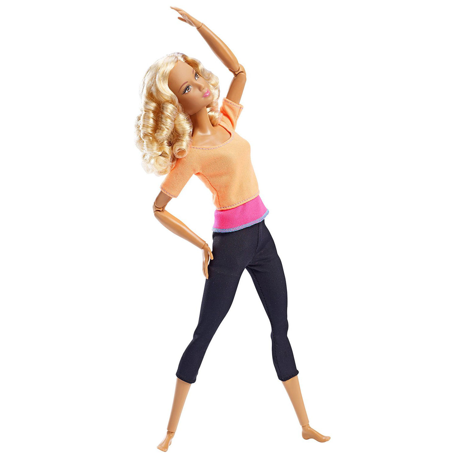 Barbie Made To Move Barbie Doll Orange Top At Hobby Warehouse