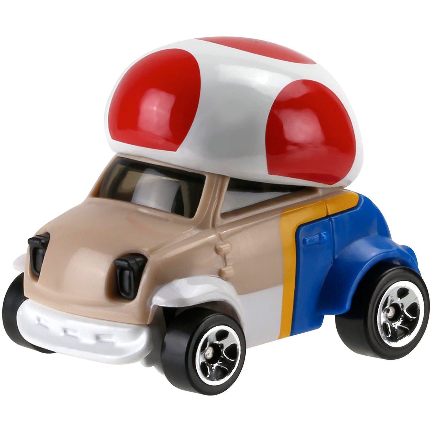 hot wheels super mario 1 64 scale diecast vehicle toad. Black Bedroom Furniture Sets. Home Design Ideas