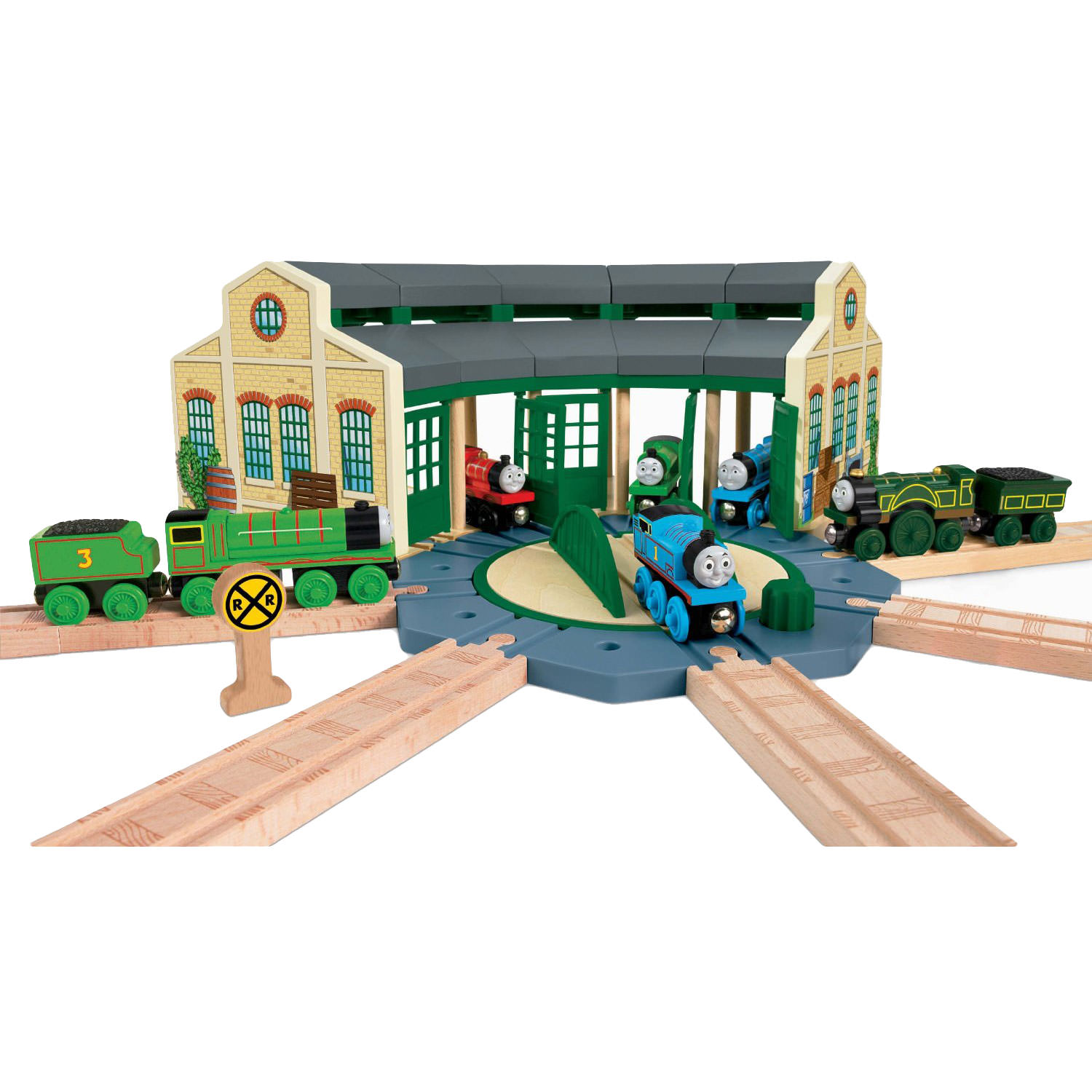 Thomas Amp Friends Wooden Railway Tidmouth Sheds At Hobby