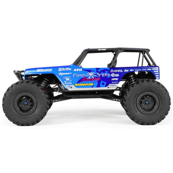 Axial 90031 Jeep Wrangler Wraith Poison Spyder Rock Crawler 4WD RTR 1/10  Scale RC Truck