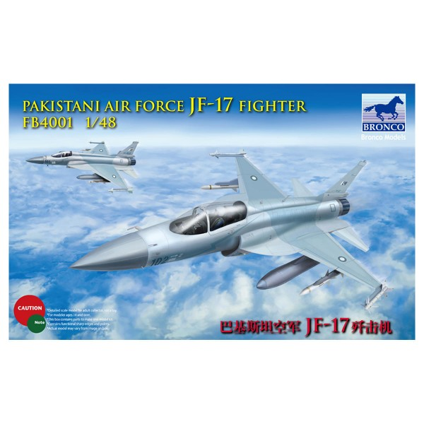 Bronco FB4001 1/48 Pakistan Air Force JF-17 Fighter Model Kit