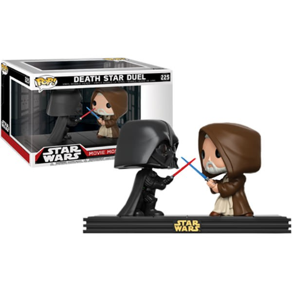 Darth Vader and Obi-Wan Kenobi Death Star Duel Movie Moments Pop Star Wars Vi