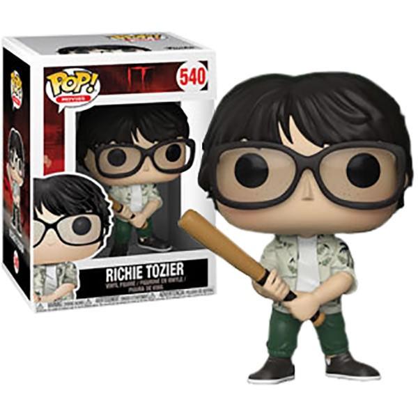 IT Funko Pop Movies Richie Tozier Vinyl Figure Item #29524