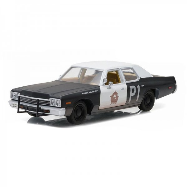 1974 Dodge Monaco Bluesmobile Blues Brothers 1980 1:24 GreenLight 84011