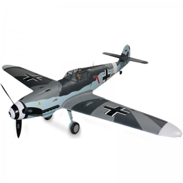 Dynam 8951 ME BF-109 5Ch Warbird with Retracts RC Plane with 6CH 2 4GHz  Gavin Digital Radio System