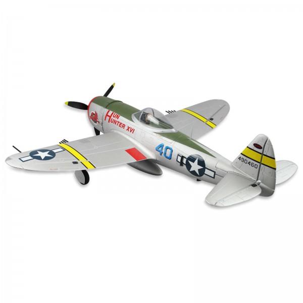 Dynam 8956 P-47D Thunderbolt RC Plane w/Retracts Includes 6 Channel 2 4GHz  Gavin Digital Radio System