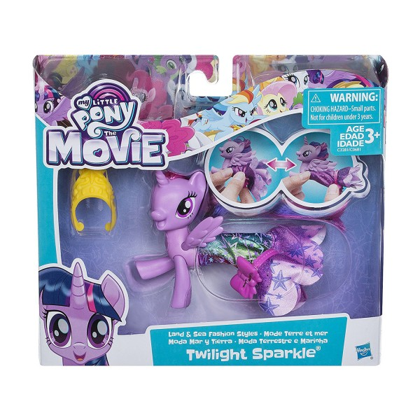 My Little Pony The Movie Land and Sea FASHION STYLES figures