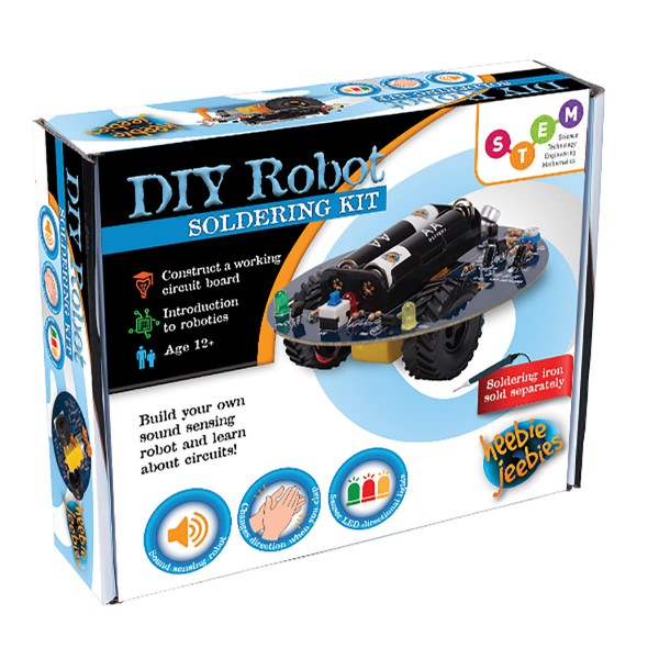 Heebie Jeebies DIY Robot Kit at Hobby Warehouse