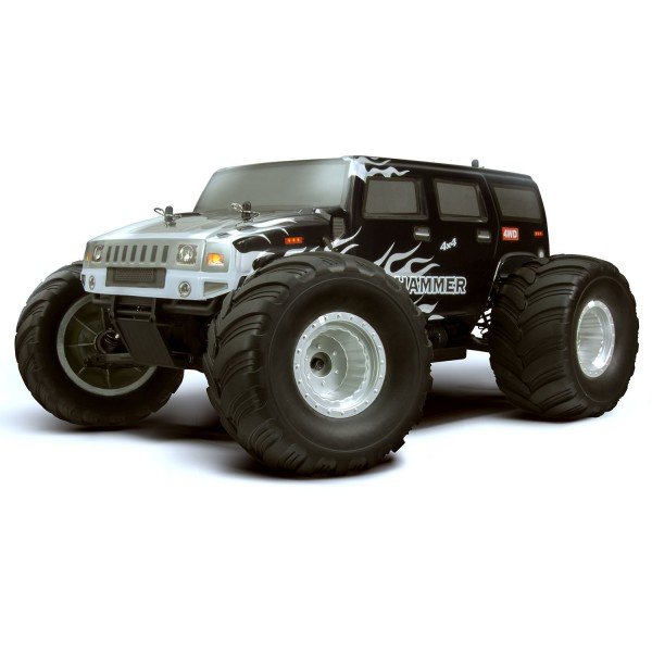 2b3f74d5413 HSP Hummer Monster Truck 94111 2.4Ghz Electric 4WD Off Road RTR RC Truck at  Hobby Warehouse