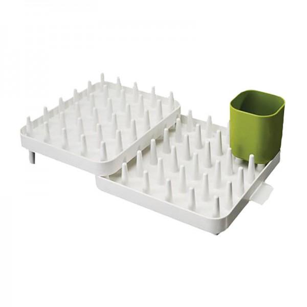 570d5976d928 Joseph Joseph Connect Adjustable 3 Piece Dish Rack - White at Hobby  Warehouse